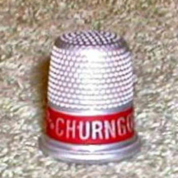 """Churngold Butterine"" Advertising Thimble"