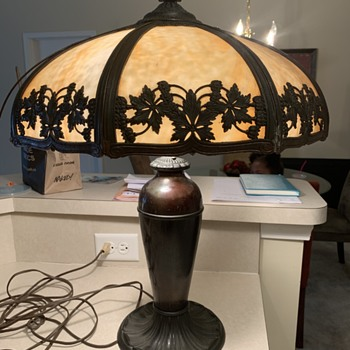 Tiffany Slag lamp - Lamps