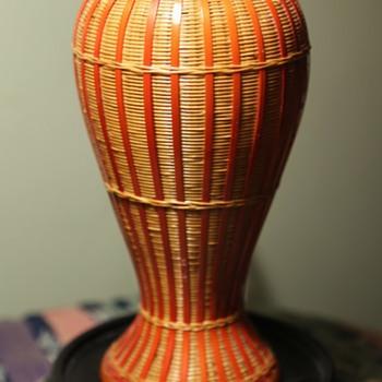 Beautiful Wicker Vase - from China