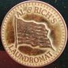 AL & RICH's LAUNDROMAT TOKEN