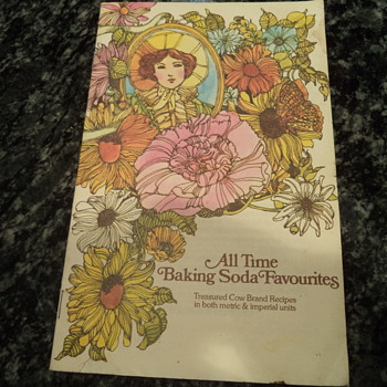 Baking Soda Recipe Book Woman-Flowers All Time Favorites