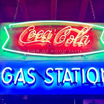 1960's Coca Cola neon sign  - Coca-Cola