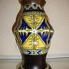 art deco vase by zuid holland gouda