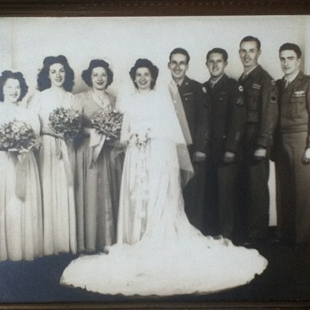 1945 San Francisco Wedding  - Photographs