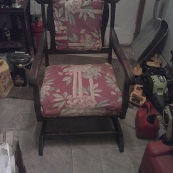 Unkown Platform Rocking Chair