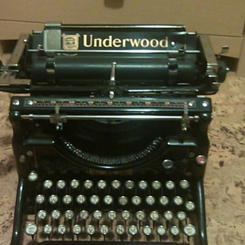 1925 Underwood #5 Typewriter  - Office