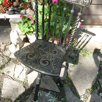 Victorian Swivel Organ Chair? - Furniture