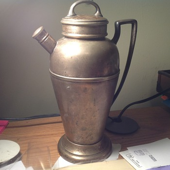 Silver plated water urn - Silver