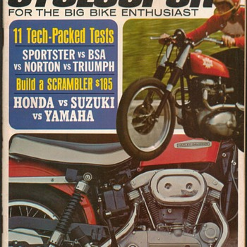 "1968 - ""Cyclesport"" Magazine"