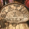 Large RR Cast Iron Sign find