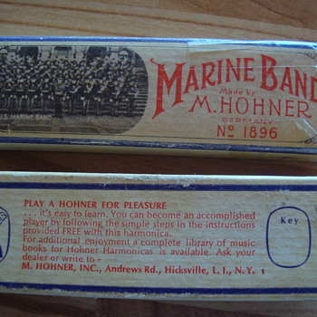 old harmonica  - Musical Instruments