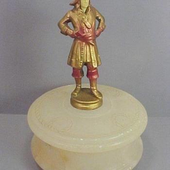 J B Hirsch Pirate Trinket Box, 1925