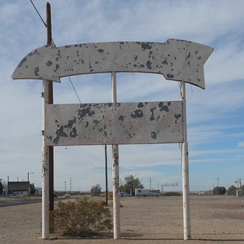 Route 66 Dagget and Newberry Springs - Photographs