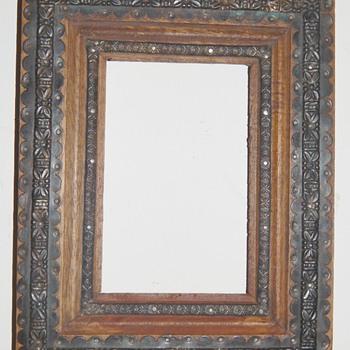 Arts & Craft era Frame Metal Gilt Who is the maker???????