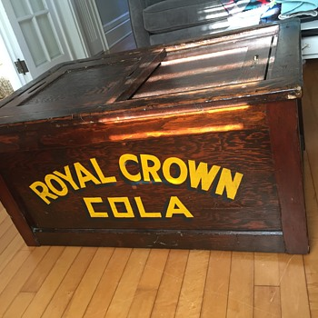 Royal Crown Ice Chest - Advertising