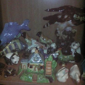 My Chinese mud men animals - Figurines