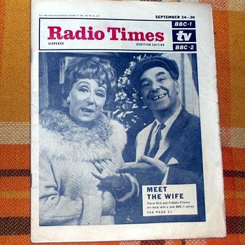 1966-bbc television/radio programmes-'radio times'. - Paper