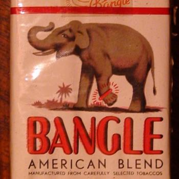 Bangle Cigarettes Vintage Full Pack - Tobacciana