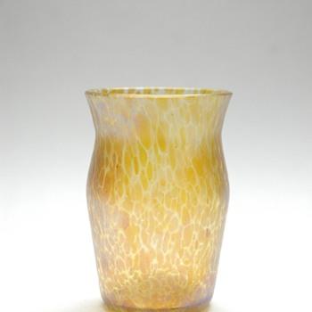 small loetz candia papillon vase - Art Nouveau