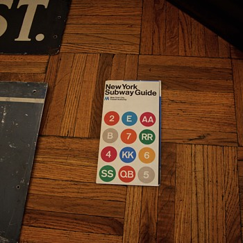 1972 Massimo Vignelli New York Subway Map  - Fine Art