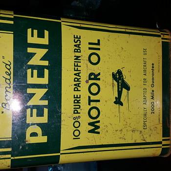 Penene motor oil  - Petroliana