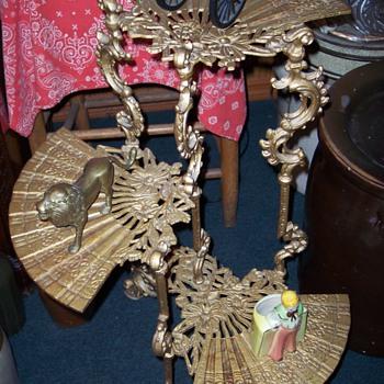 Ornate Cast Iron Plant Stand - Furniture