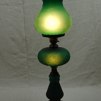 Mid Century Victorian Style Table Lamp? - Lamps