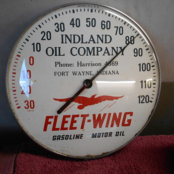 Fleet-Wing Thermometer - Petroliana