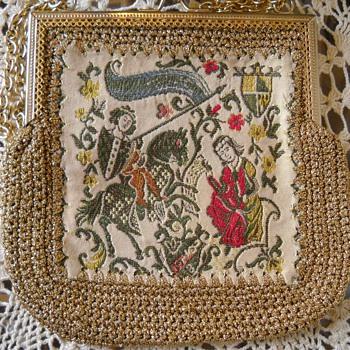 VINTAGE TAPESTRY BAG - Bags