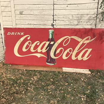 """115"""" x 44"""" Coca Cola signs, advice needed - Coca-Cola"""
