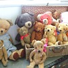 Just a Few of My Favorite Teddies in My Collection!
