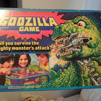 Vintage Mattel 1978 Godzilla Board Game - Toys