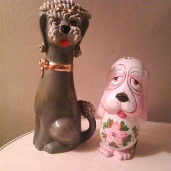 VINTAGE DOGS - Pottery