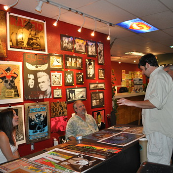 Rock Art Revulsion at Body Tribe in Sacramento - Music Memorabilia