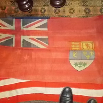some flags  I purchased at auction - Military and Wartime