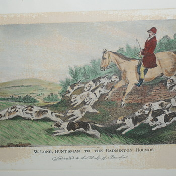 Reprint of Antique Print