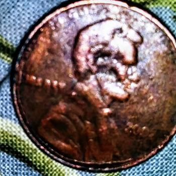 2092 penny error - US Coins