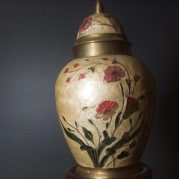 Little Brass Vase  - Asian