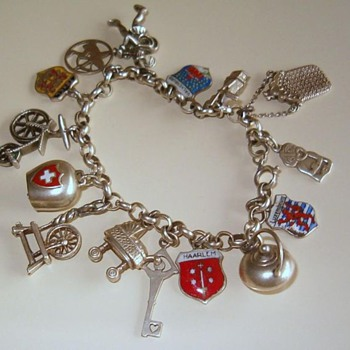Silver Charm Bracelet with one very special charm! - Fine Jewelry