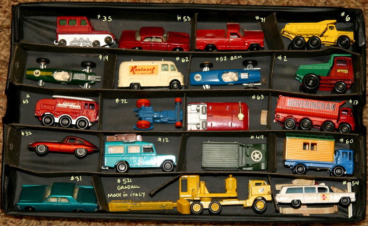 my found matchbox cars collectors weekly. Black Bedroom Furniture Sets. Home Design Ideas