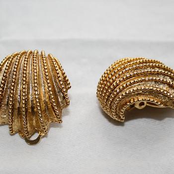 Orena Paris earrings - Costume Jewelry