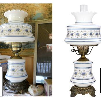 Abigail Adams Hurricane Lamp - Lamps