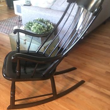 Remarkable Antique And Vintage Rocking Chairs Collectors Weekly Ocoug Best Dining Table And Chair Ideas Images Ocougorg