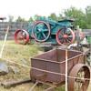 1907 Western Wheeled Scraper Rock Crusher