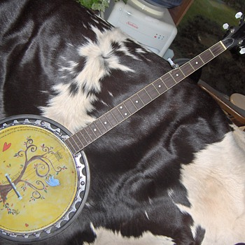 HANDPAINTED BANJO