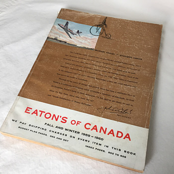 The T. EATON Co Limited, Winnipeg 1959-60 Catalogue