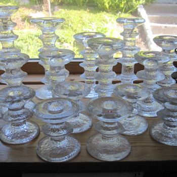 Timo Sarpaneva,  my Festivo collection. - Art Glass