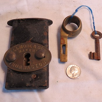I found this unusual lock mechanism. Trying to figure how it was used. - Tools and Hardware
