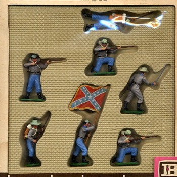 Britains Swoppets Confederates. - Toys