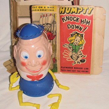 Like the first of action figure is this Humpty Dumpty?